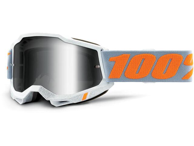 100% Accuri Anti-Fog Goggles Gen2, Plateado